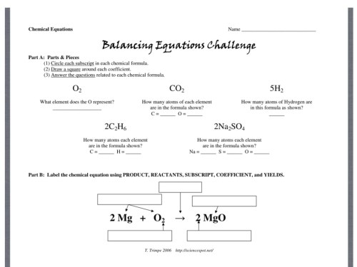 small resolution of Balancing Equations Challenge Directions   Science