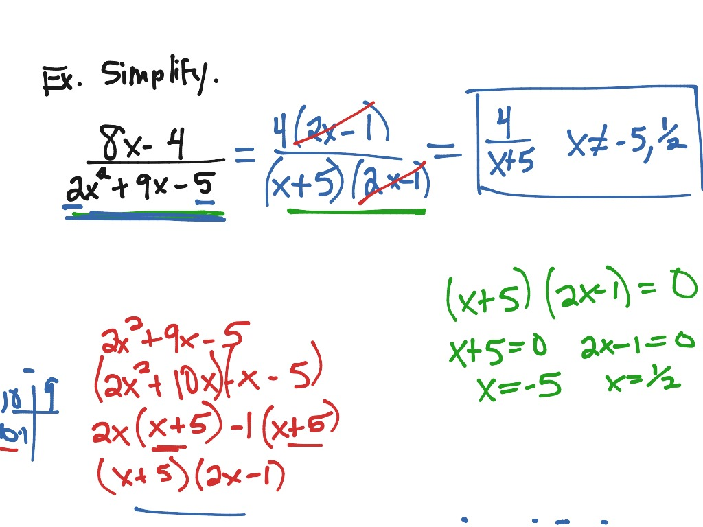 5 2 Multiplying Dividing Rational Expressions Ex 1