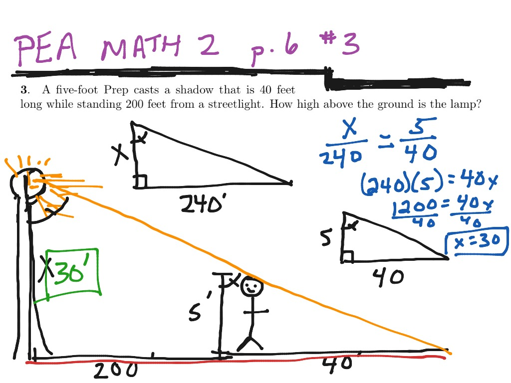 Similar Right Triangles Worksheet