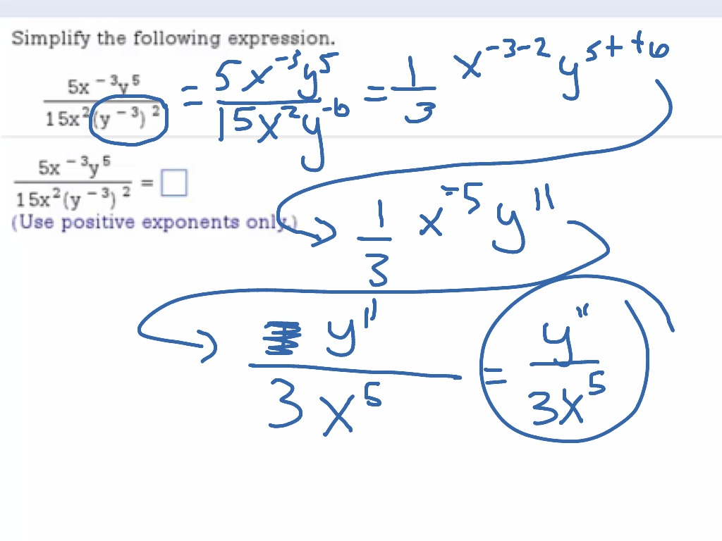 Dividing With Exponents
