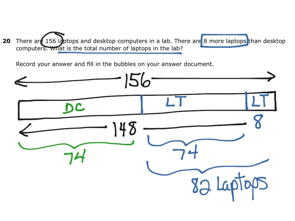medium resolution of strip diagram solves system of equations math algebra systems of equations high school showme