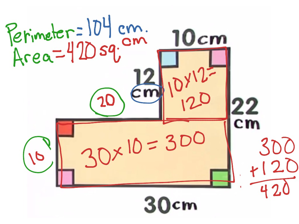 hight resolution of Rectilinear area   Math