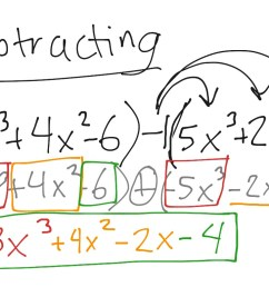 Adding and subtracting polynomials   Math [ 768 x 1024 Pixel ]