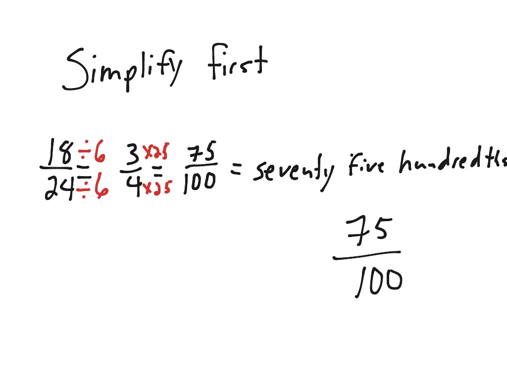 Fraction To Decimal Page 40