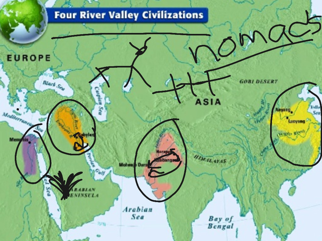 First Four River Valley Civilizations How Did Geography