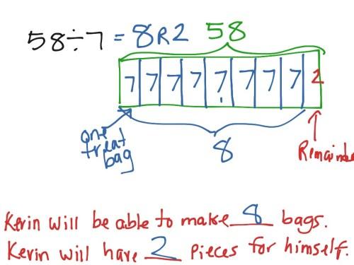 small resolution of dividing with remainders using a tape diagram lesson 14 math tape diagram decimal division decimal tape diagram