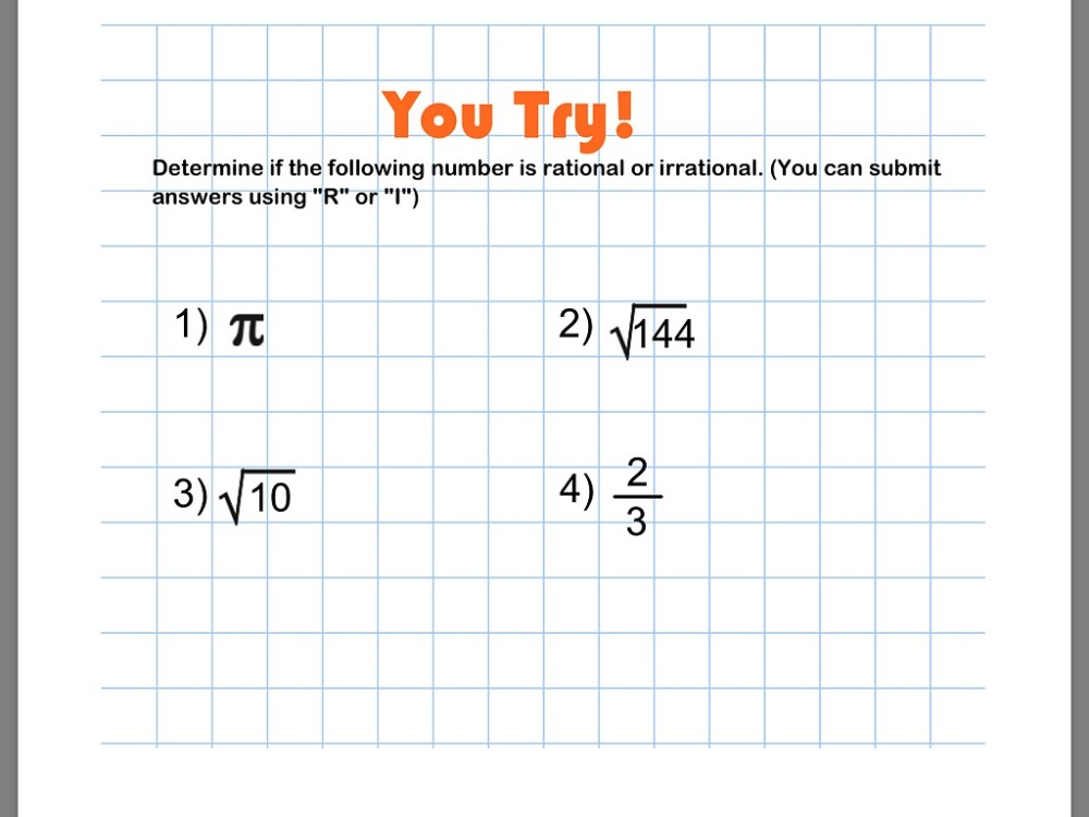 medium resolution of Rational And Irrational Numbers 8th Grade Worksheets   Printable Worksheets  and Activities for Teachers
