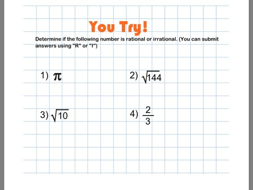 small resolution of Rational And Irrational Numbers 8th Grade Worksheets   Printable Worksheets  and Activities for Teachers