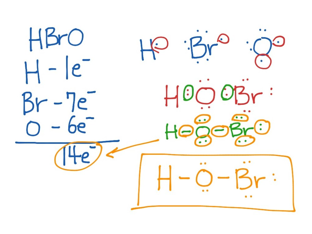 medium resolution of electron dot structure of hbro science chemistry showme lewis diagram ph3 lewis diagram hobr