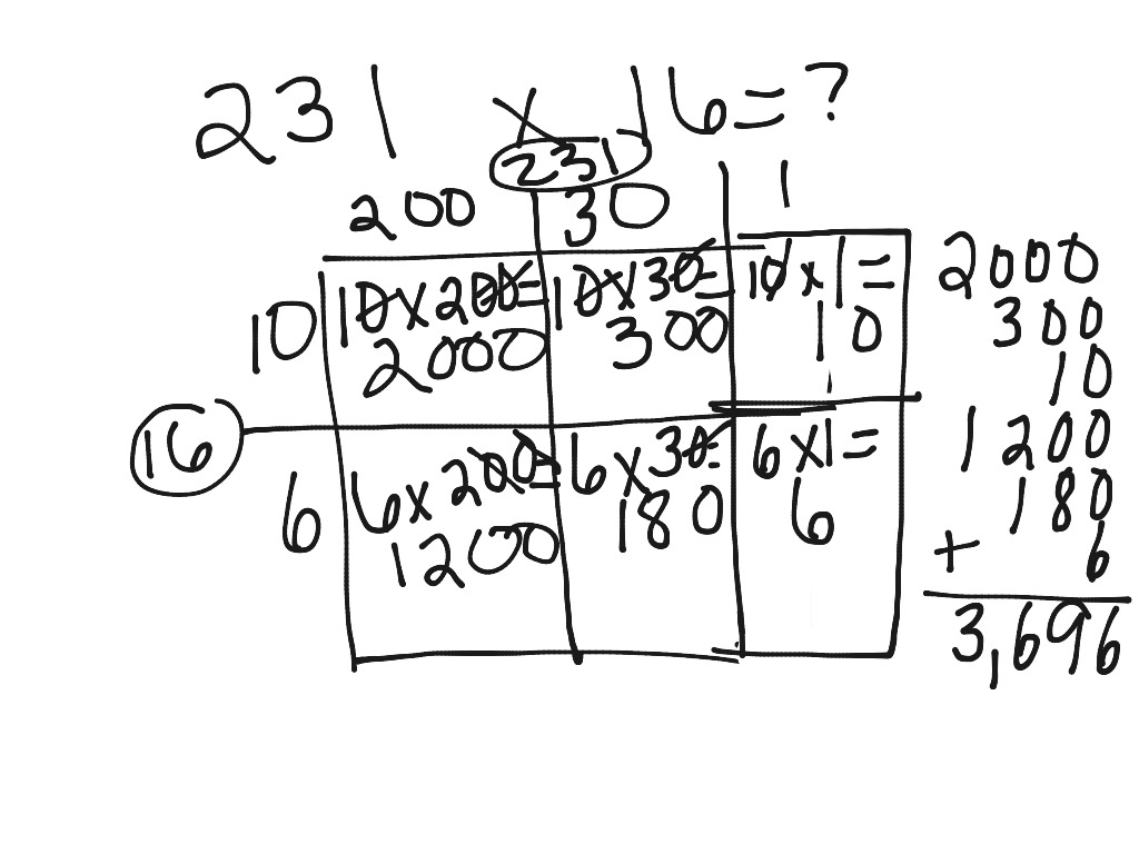 Multiplication Distributive Array And Partial Product