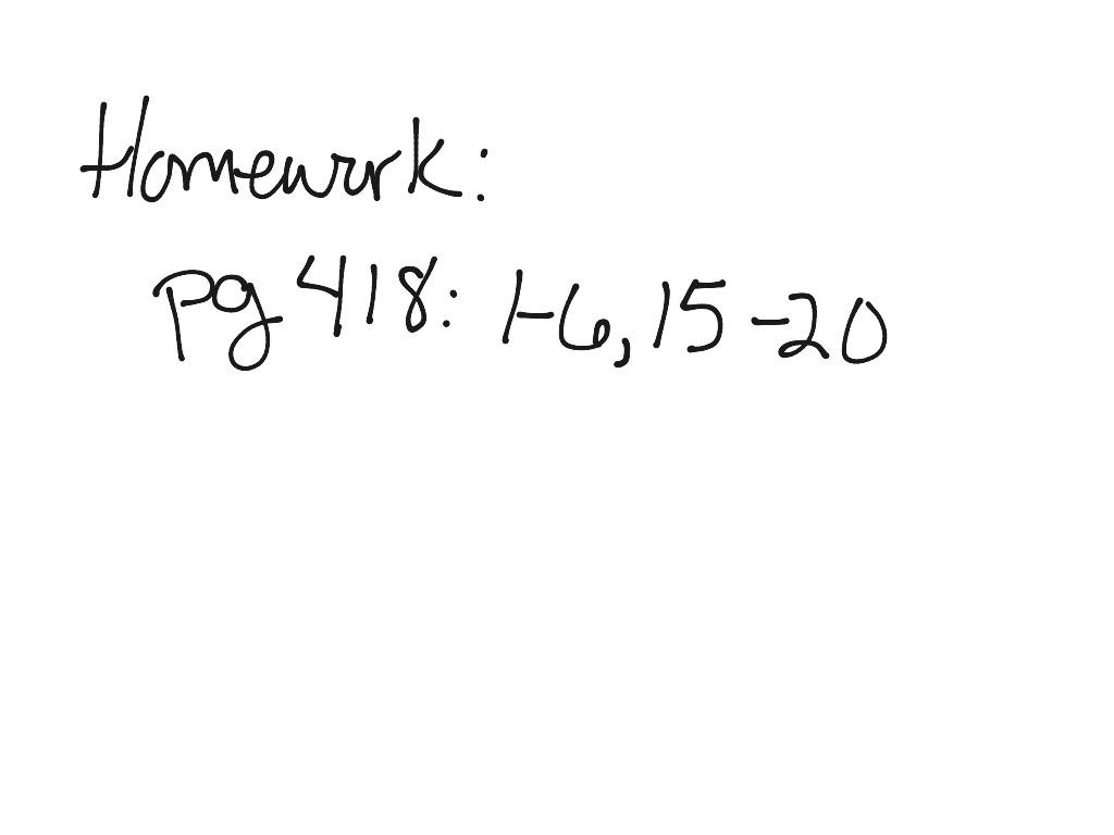 Calculus 6 1a