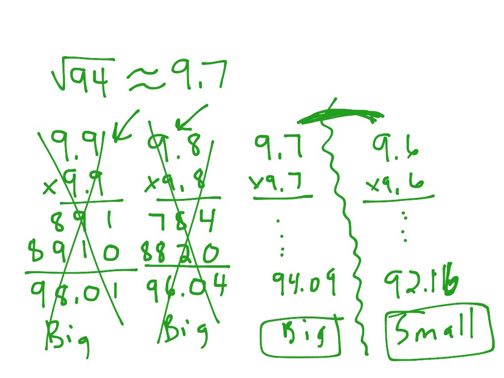 Pa 7 3 Approximating Irrational Numbers