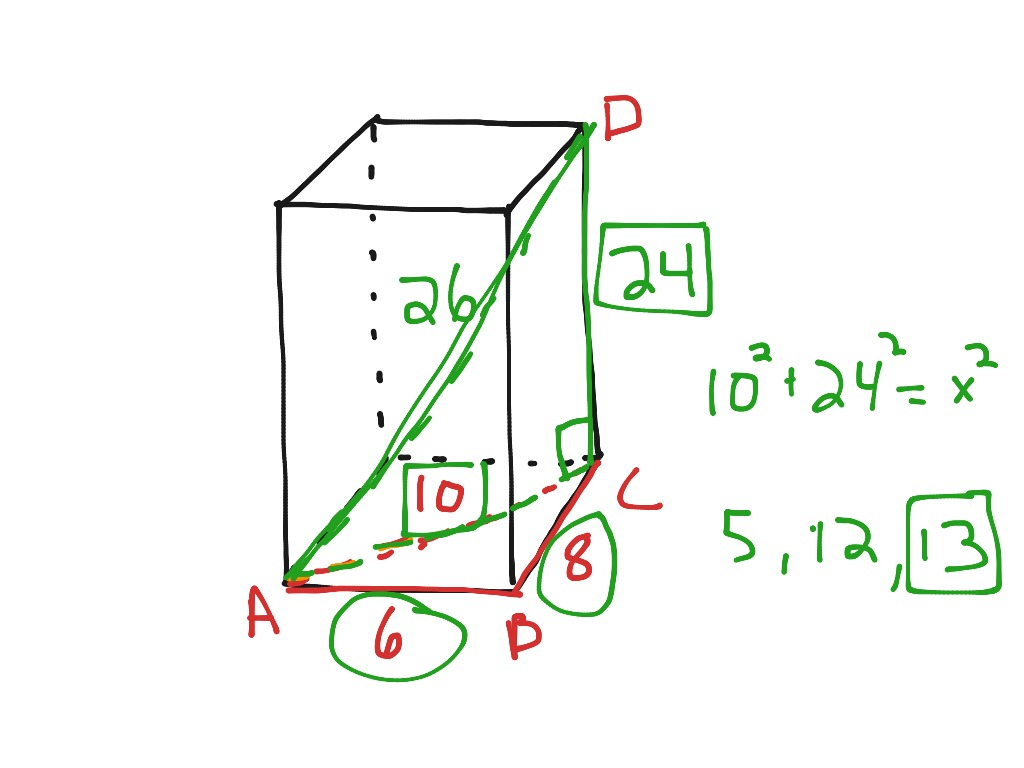 Pa 8 3 Pythagorean Theorem In 3d