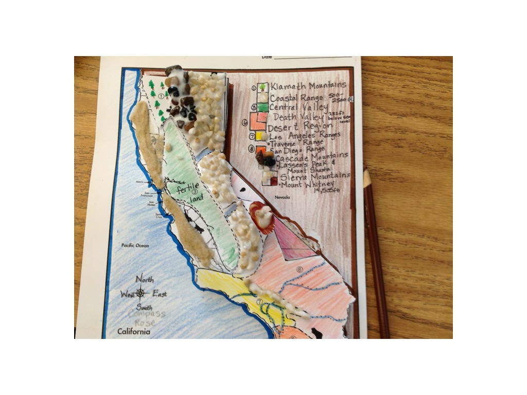 How To Make A Topographic Map Of California