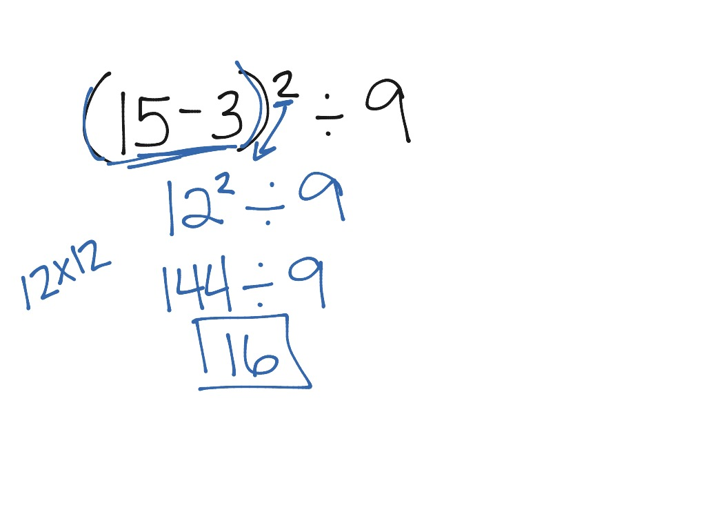 Lesson 7.2: Evaluate Expressions Involving Exponents