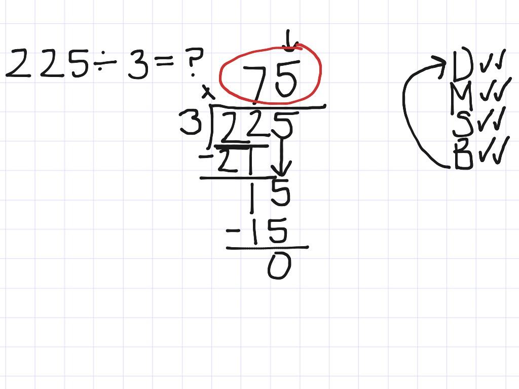 Grade 4 Long Division Worksheet