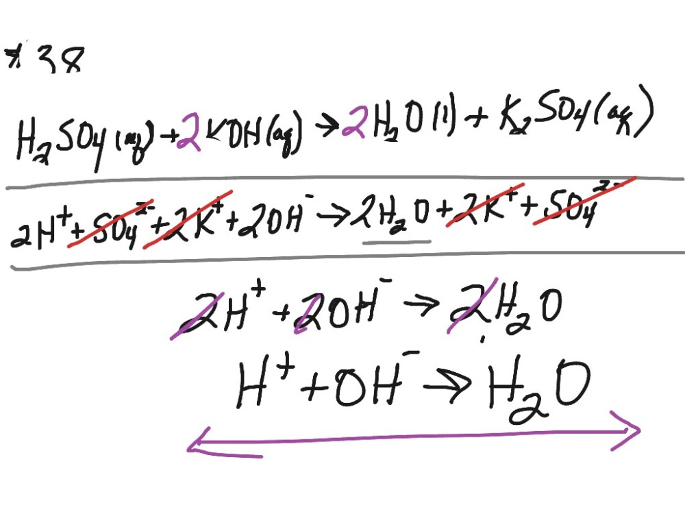 medium resolution of Chemistry balancing chemical equations 10.3 #33