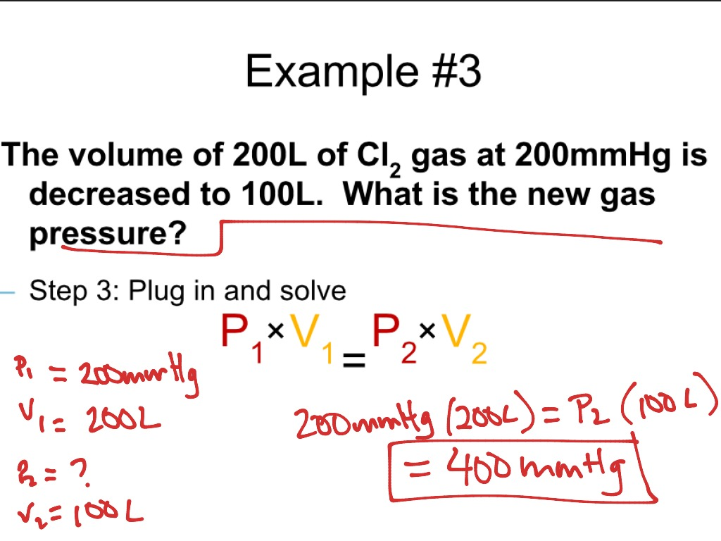 W34d4 Combined Gas Law Examples