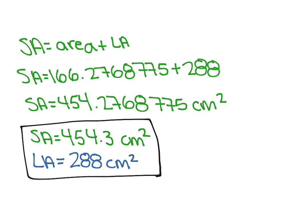 How To Find The Lateral And Surface Area Of A Hexagonal