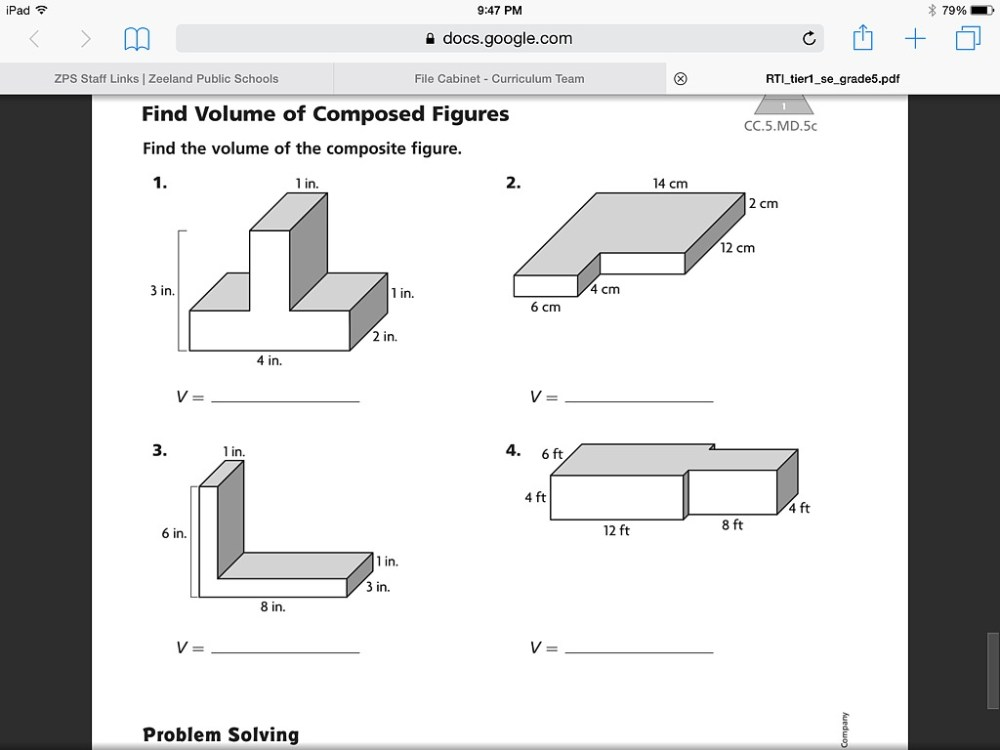 medium resolution of 29 Volume Of Composite Figures Worksheet 5th Grade - Worksheet Project List