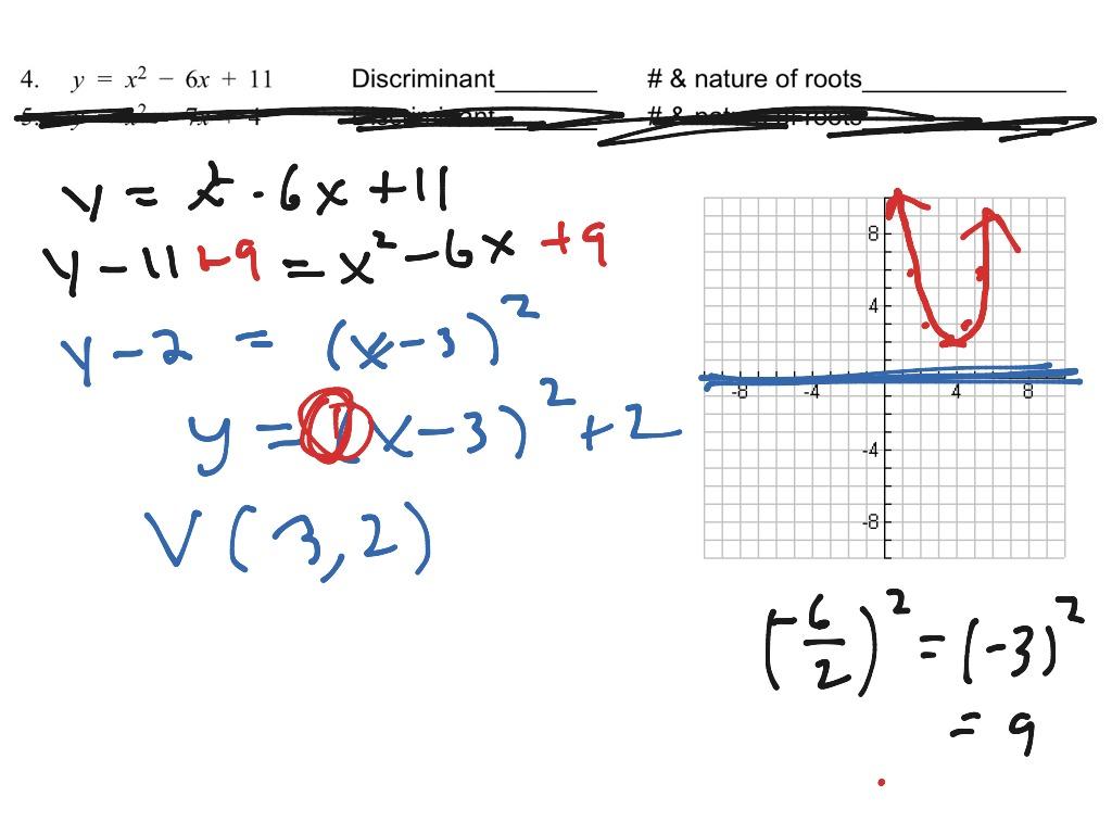 Quadratics 4