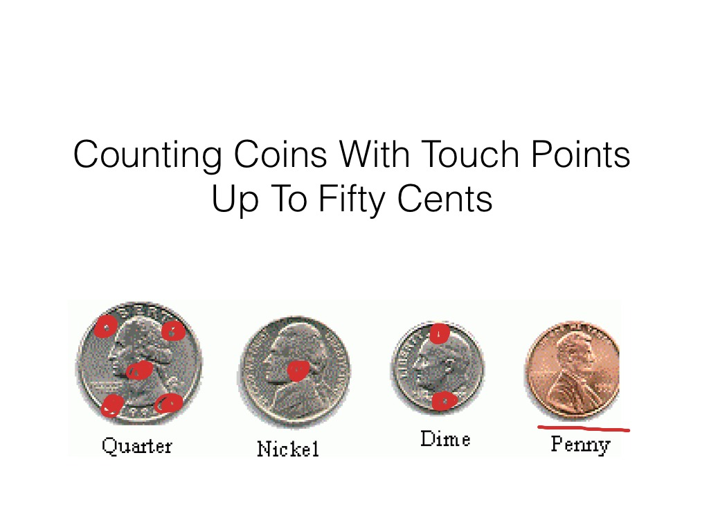 Moderate Severe Spec Ed Counting Coins W Touch Points Up To Fifty Cents