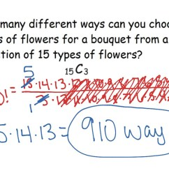 12-6 Permutations and Combinations   Math [ 768 x 1024 Pixel ]