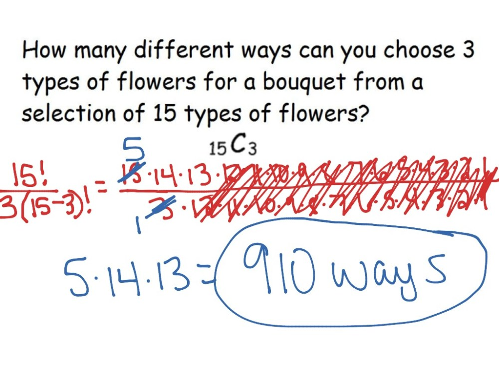 medium resolution of 12-6 Permutations and Combinations   Math