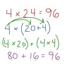 Manuele - Distributive Property of Multiplication   Math   ShowMe [ 768 x 1024 Pixel ]