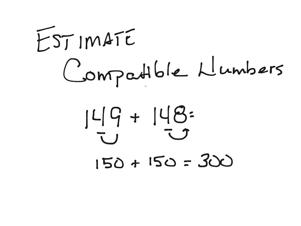 Estimation Using Rounding And Compatible Numbers