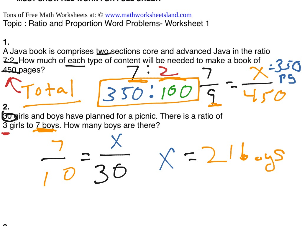 hight resolution of Ratio \u0026 Proportions Word Problems   Math   ShowMe