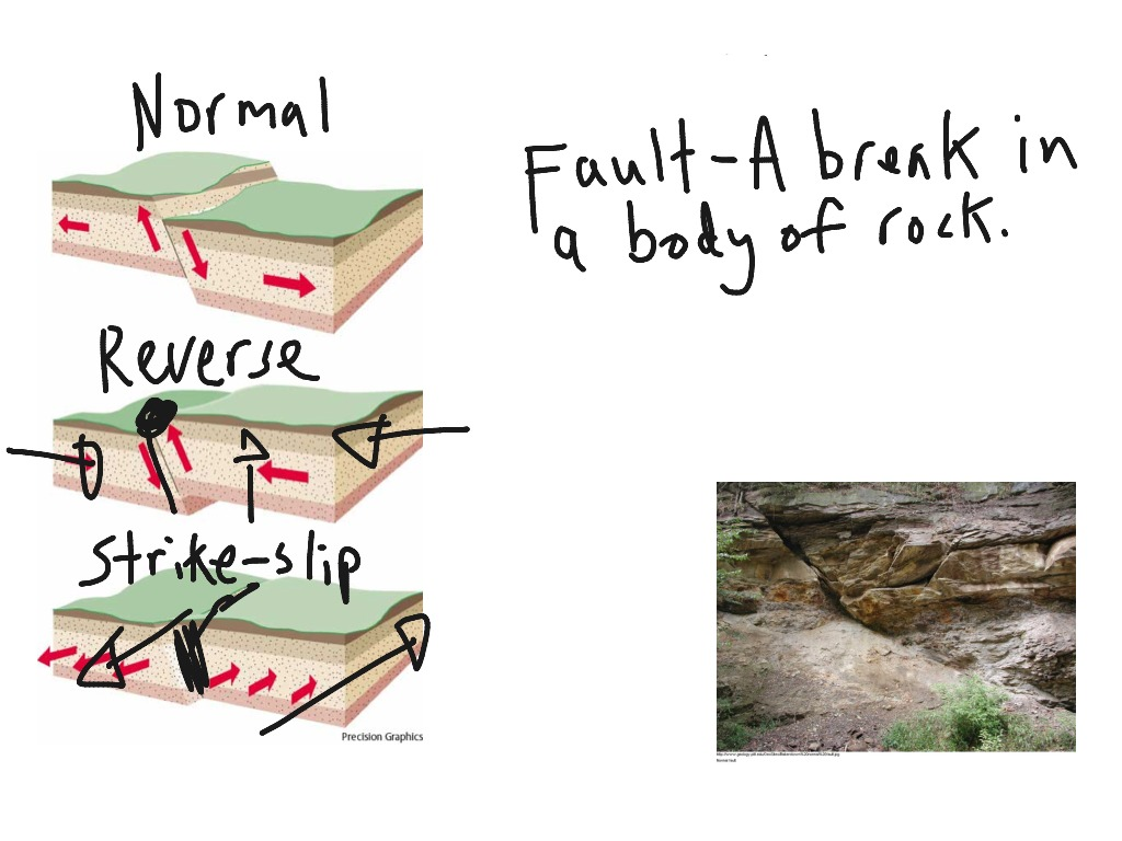Types Of Folds And Faults
