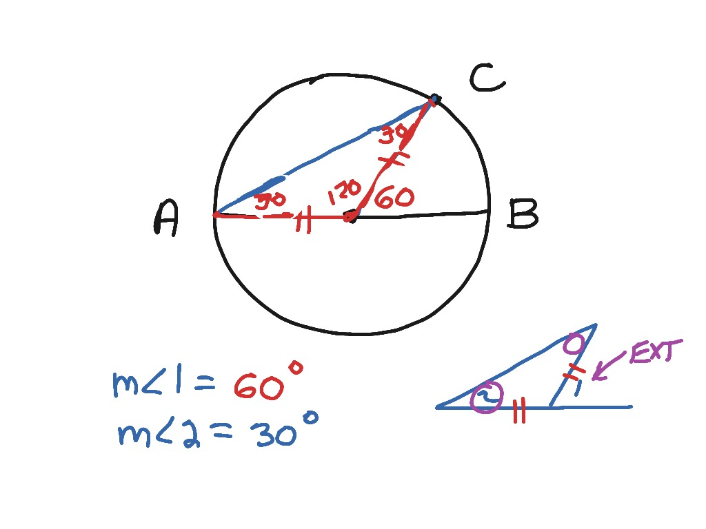 9 3 Arcs And Central Angles