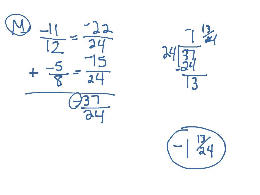Worksheet How To Subtract A Fraction From A Whole Number
