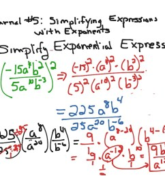 Simplifying Expressions with Exponents   Math [ 768 x 1024 Pixel ]