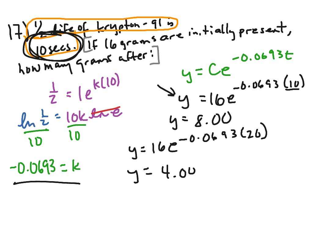 Mac Applications Of Exponential Functions