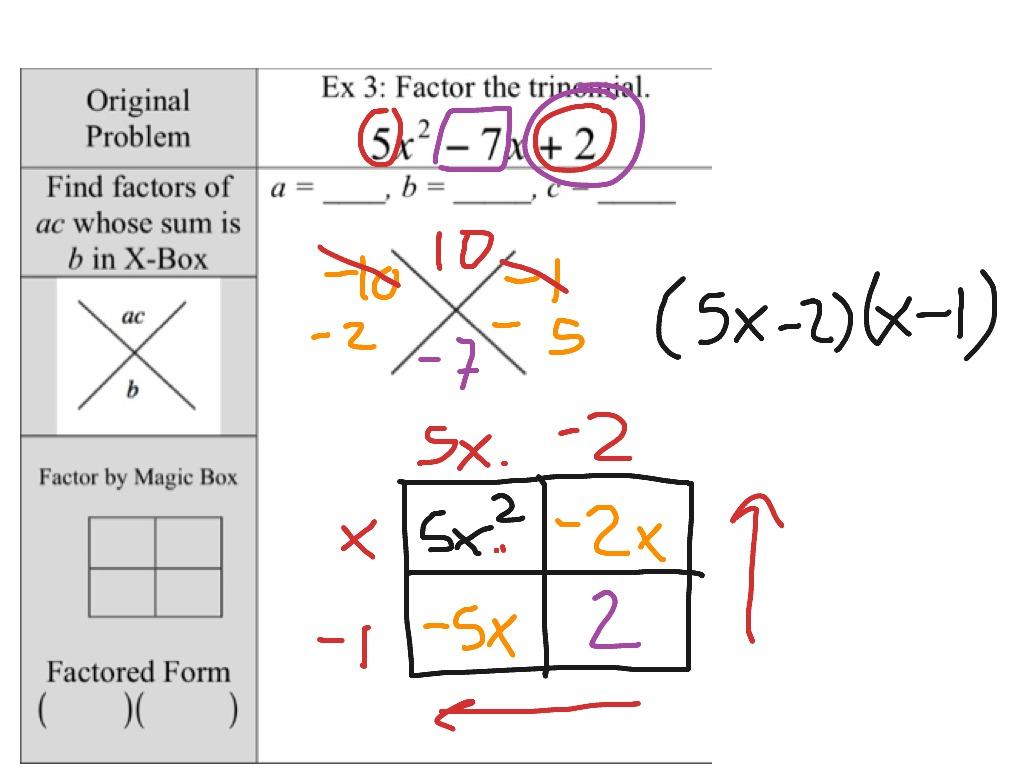 Algebra 8 6 Ex 3