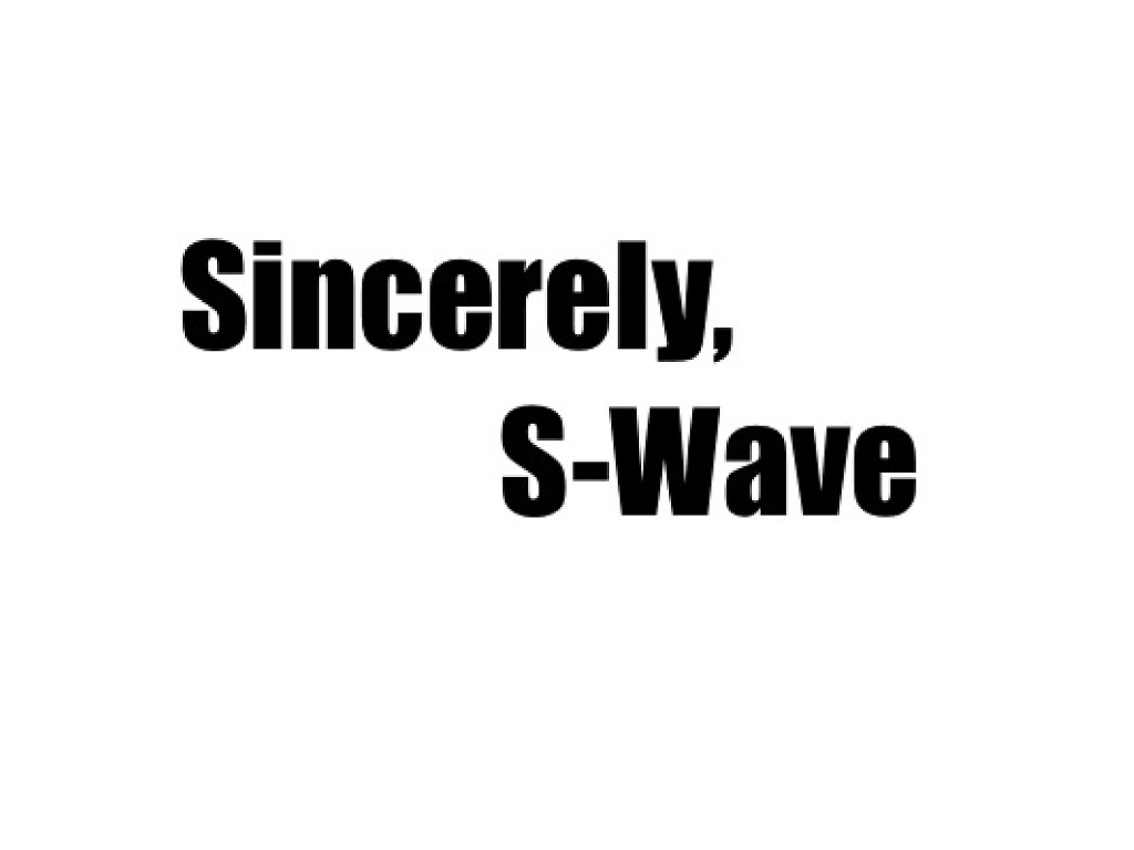 S Wave To P Wave