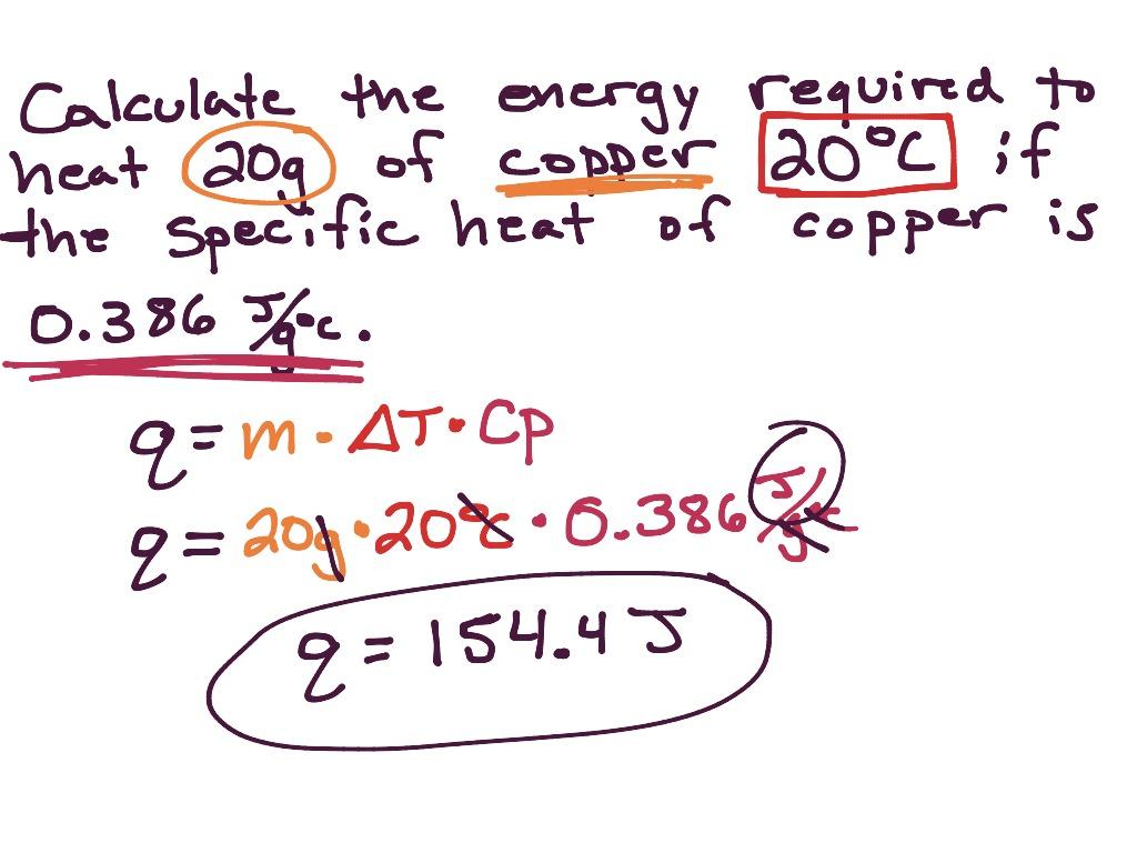 Calculating Heat Capacity