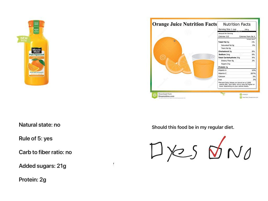 Food Evaluation