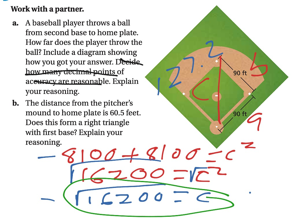 Real Life Pythagorean Theorem