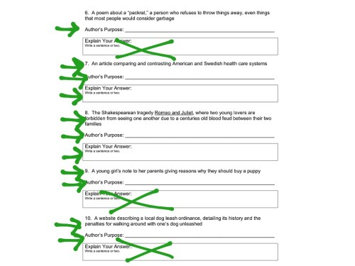 small resolution of Author Purpose Worksheet 6   Printable Worksheets and Activities for  Teachers