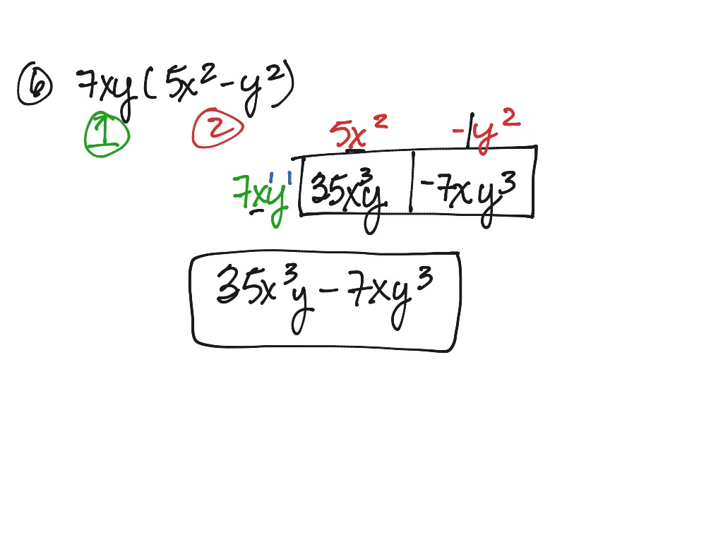 8 3 Multiplying Polynomials And Selected Problems From