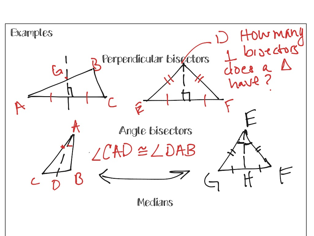 Special Segments In Triangles Part 1