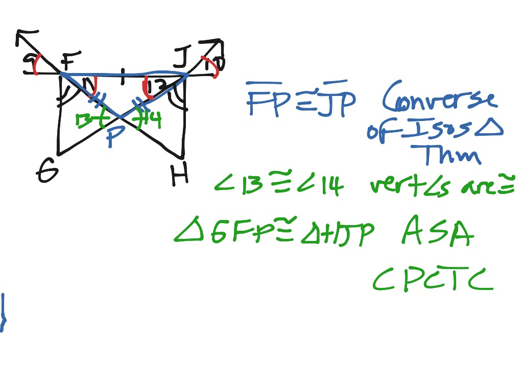 Extra Examples Of Cpctc And Overlapping Triangle Proofs