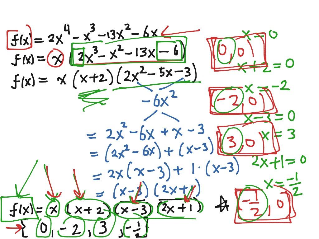 7 1 Lesson 1 Using The Rational Zero Theorem