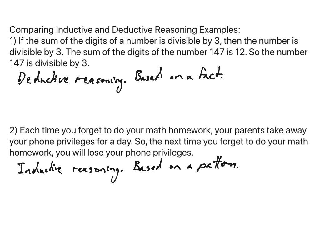 Geometry 2 2 Deductive Reasoning