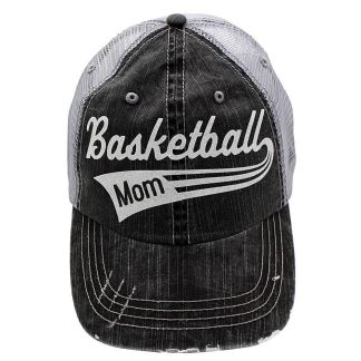 67dd349df6 Basketball Hair Dont Care Grey Trucker Style Sports Hat ⋆ Show Me ...