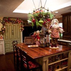 How To Decorate Your Kitchen Wire Shelf Rack Christmas Home Decor Show Me Decorating