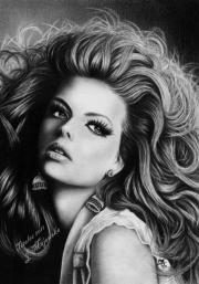 portrait drawings justine